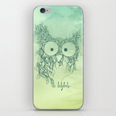 The Babybirds Owl 02 iPhone & iPod Skin