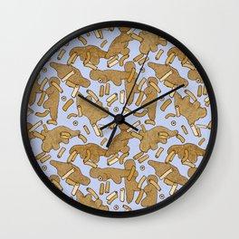Nuggets Wall Clock