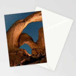 Double  Arch  - Nature Window in Utah Stationery Cards