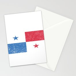 Panama Flag Vintage Panamanian National Country Gift Stationery Cards