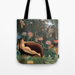Henri Rousseau - The Dream Tote Bag