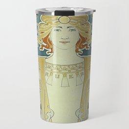 Vintage poster - Bec Auer Travel Mug