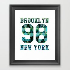 Brooklyn NYC Framed Art Print