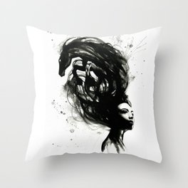 Wild soul Throw Pillow
