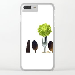 Eat Healthy Clear iPhone Case