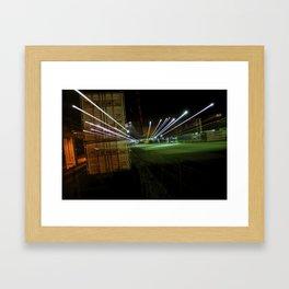 Night Train Framed Art Print