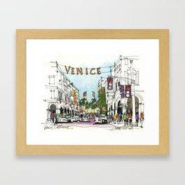 Venice, California Framed Art Print