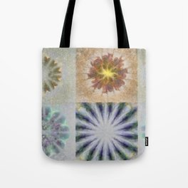 Benching Constitution Flowers  ID:16165-063617-72980 Tote Bag