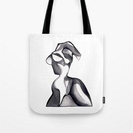 Glass Figure Sculpture Tote Bag