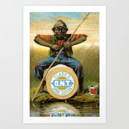 Clark's Spool Cotton Art Print