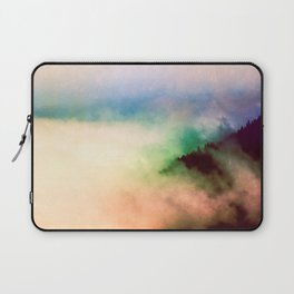 Ethereal Rainbow Clouds - Nature Photography Laptop Sleeve