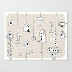 Affordable Housing Canvas Print