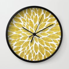 Petal Burst #25 Wall Clock