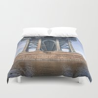dumbo Duvet Covers featuring DUMBO by MikeMartelli
