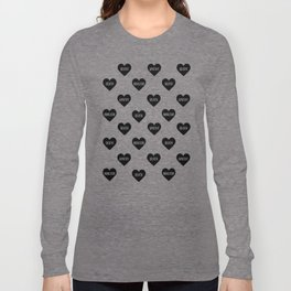 Apathy Death Nihilism Hearts Long Sleeve T-shirt