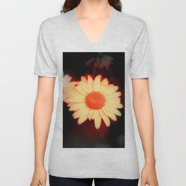 Daisy Flower Unisex V-Neck