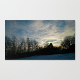 This winter's gonna hurt like a m... Canvas Print