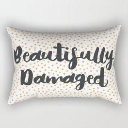Beautifully Damaged Rectangular Pillow