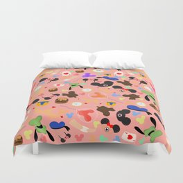 A day at the park (Disneyland) Duvet Cover