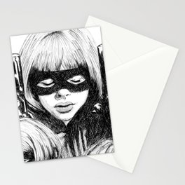 Hit-Girl Stationery Cards