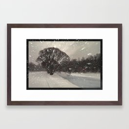 Out of the window... Framed Art Print