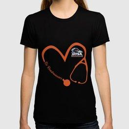 go roadrwiner s utsa roadrunners nurse soccer T-shirt