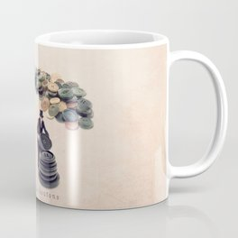 The button sorter Coffee Mug