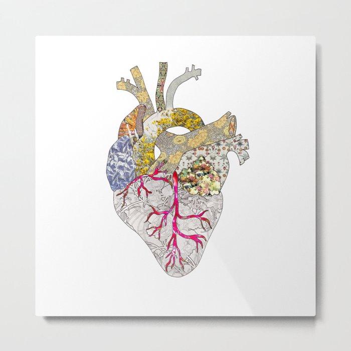 my heart is real Metal Print