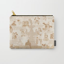 Love And Adventure In Animation Carry-All Pouch