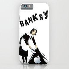 Banksy Sweeping Under The Rug iPhone 6 Slim Case