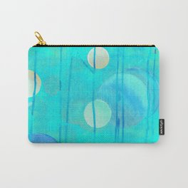 turquoise sphere Carry-All Pouch
