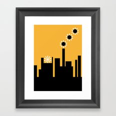 The factory Framed Art Print