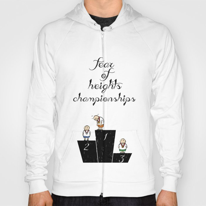 fear of height Hoody