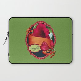 Tropical Amaryllis Laptop Sleeve