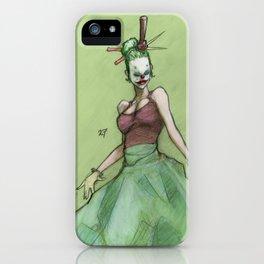 Clown 27 iPhone Case