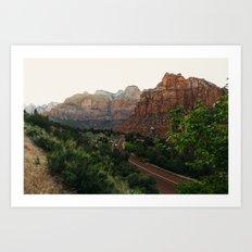 Zion National Park Art Print