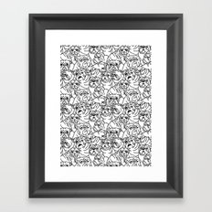 Oh English Bulldog Framed Art Print