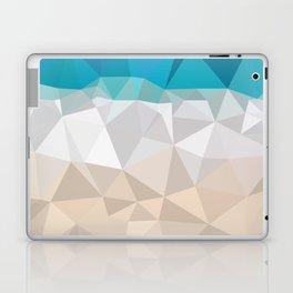 Low poly beach Laptop & iPad Skin