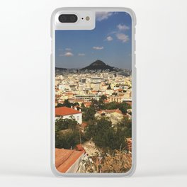 Athens, Greece Clear iPhone Case