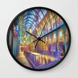Art Of Covent Garden London Wall Clock