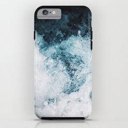 Blue Swells iPhone Case