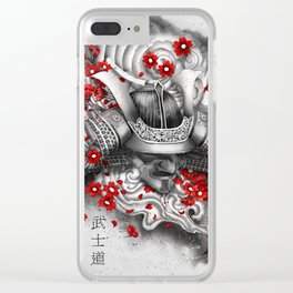 Bushido Clear iPhone Case