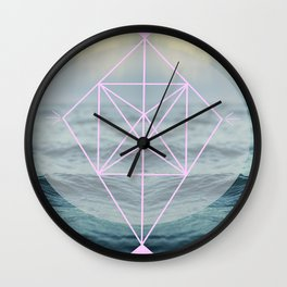 Oh those lovely colors Wall Clock