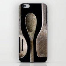 Wooden Kitchen Utensils iPhone & iPod Skin