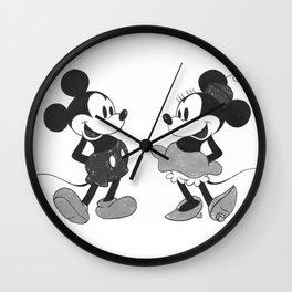 Mickey & Minnie Mouse B&W (NEW PRODUCTS) Wall Clock