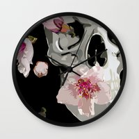 """spring Wall Clocks featuring """"Spring"""" by Miguel Angélus Batista"""
