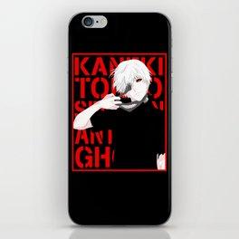 Ken Kaneki - Tokyo Ghoul iPhone Skin
