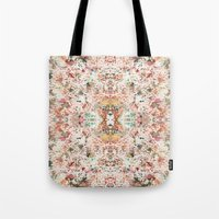 minerals Tote Bags featuring Mystic Minerals by Caroline Sansone