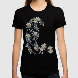 Bullfinch and French Bulldog Cherry T-shirt