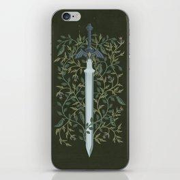 Sword of Time iPhone Skin